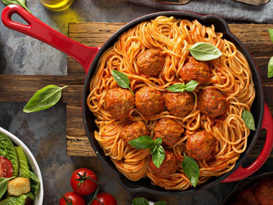 Schlachterei G. Hohn Fleisch Spaghetti
